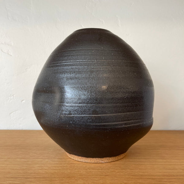 Mason Black Large Abstract Vase