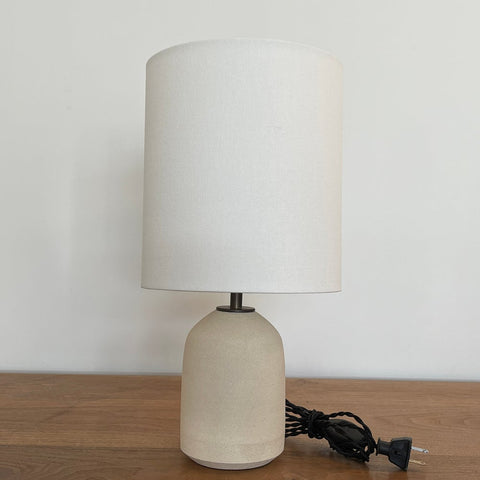 Willow Lamp - Chalk