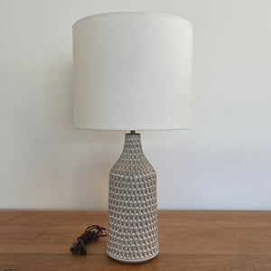 Carved Angle Lamp - Birch