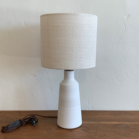 Delos Lamp - White Wash