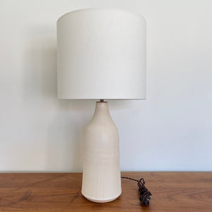 Large Birch Pinstripe Bottle Lamp