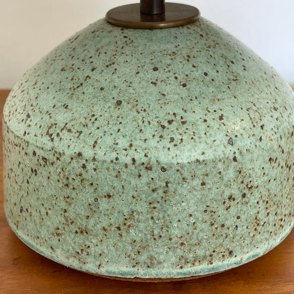 Agnes Lamp in Mottled Copper