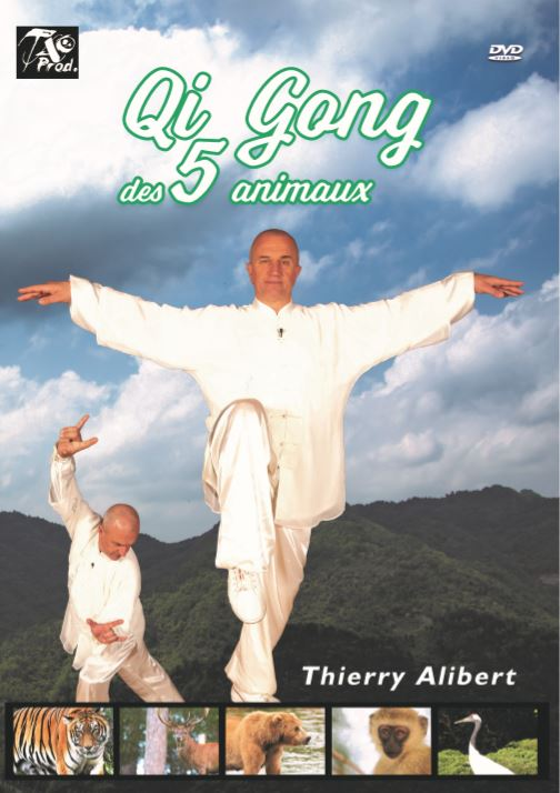 DVD - Qi Gong des 5 animaux