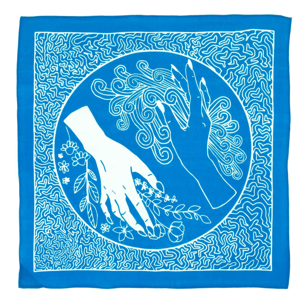 "BANDITS Bandanas - ""Flow & Kindness"" - Fire + Mineral"