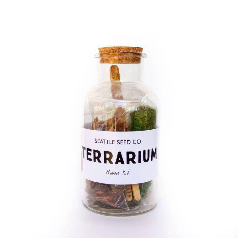 DIY Terrarium Kit - Fire + Mineral
