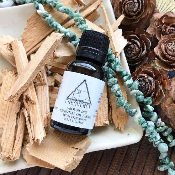 Grounding with Tree Agate Essential Oil - Fire + Mineral