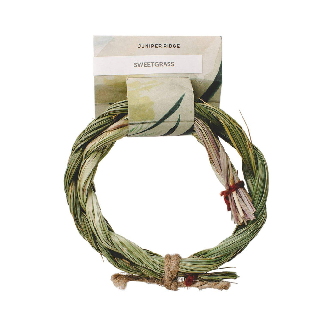 Natural Incense - Sweetgrass Braid - Fire + Mineral