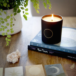 New Moon Candle - Fire + Mineral