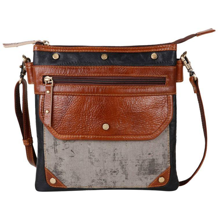 VG1020-P25 - Upcycled Genuine Leather - Fire + Mineral