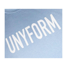 Load image into Gallery viewer, UNYFORM  BIG LOGO SWEATER BLUE product_description Sweater.