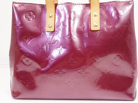 Authentic Pre-owned Louis Vuitton Vernis Purple Violet Reade Pm Tote Bag Purse M93578 210146