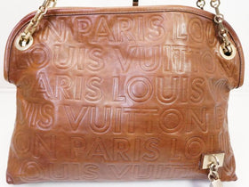 Authentic Pre-owned Louis Vuitton Limited 2008 Collection Paris Souple Whisper Pm Bag M98529 200288