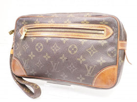 Authentic Pre-owned Louis Vuitton Vintage Monogram Pochette Marly Dragonne Gm Clutch M51825 210023