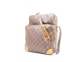 Authentic Pre-owned Louis Vuitton Vintage Monogram Amazone Gm Crossbody Messenger Bag M45232 200295