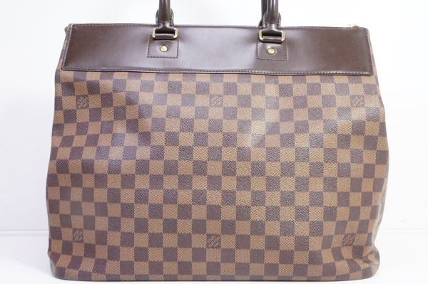 Authentic Pre-owned Louis Vuitton Damier Ebene Greenwich Pm Duffle Bag Travel Luggage N41165 190583