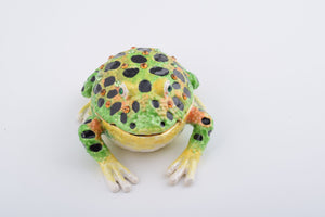 Black Spotted Toad - Trinket Box