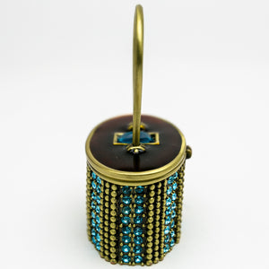 Decorated Handbag Trinket Box