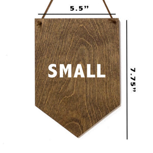But First Coffee - Wood Wall Banner