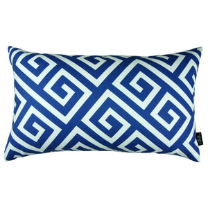 Greek Key Decorative Pillow Cover
