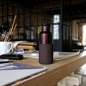 Burgundy Black Cherry 16 Oz water bottle