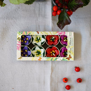 Four Colour Garden Flower Scented Tealights