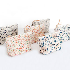1Pcs Cotton Canvas Cosmetic Make up Bag