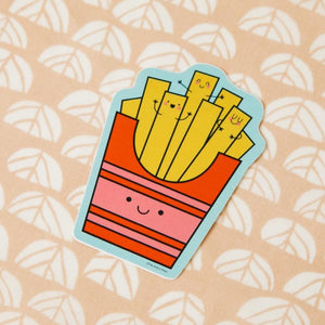 French Fries Vinyl Decal Sticker