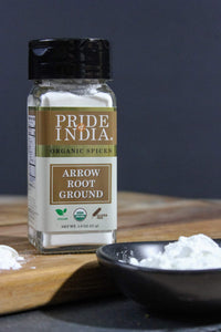 Organic Arrowroot Ground Powder