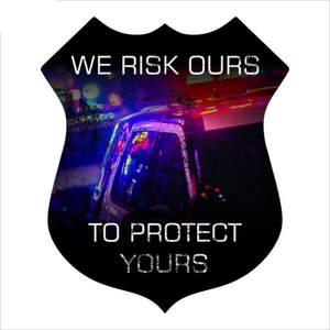 Law Enforcement Imagery Sign - Police Badge
