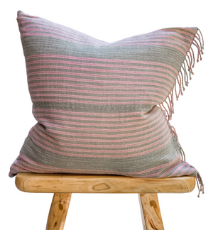 Handmade Stripped Cotton Pillow
