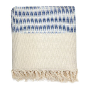 Plush Wavy Turkish Throw blankets