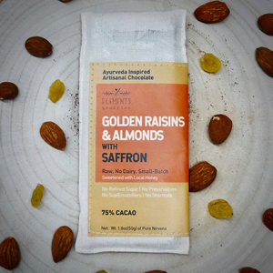 Golden Raisins & Almonds with Saffron