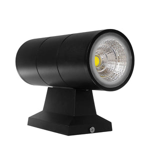 20W COB LED Wall Lamp - Cylinder Waterproof IP65