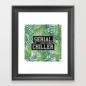 Serial Chiller Wall Hangings Frame