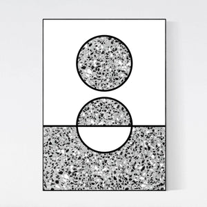 Modern Design Print Poster-Graphic Art