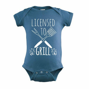 Licensed To Grill Printed T-shirt