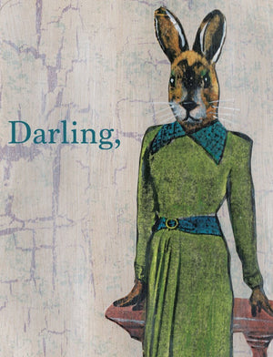 Darling Fancy Rabbit Card