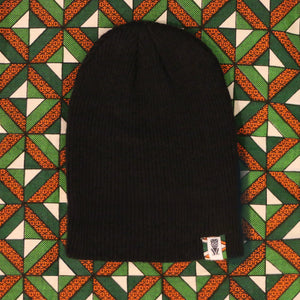 Soft and Cozy Wool Beanie Caps-Black
