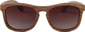 Zebra All Wood Jacks - Woooden SunGlasses