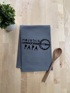 Mountain Papa Dish Towel