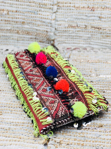 Handmade Fold Over Boho Clutch Bag