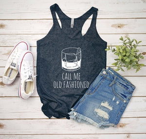 Call Me Old Fashioned Printed T-Shirt