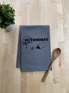 Outdoorsy - Cotton Flour Sack Towels.