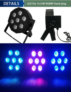 LED UV Par Light With 6in1 Stage Light Wash
