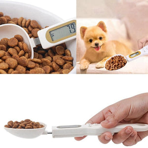 Pet Food Measuring Spoon With Led Display