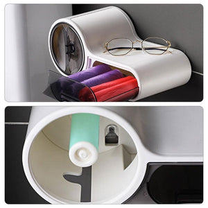 Bathroom ABS+PP Toilet Tissue Box - Waterproof Roll Holder