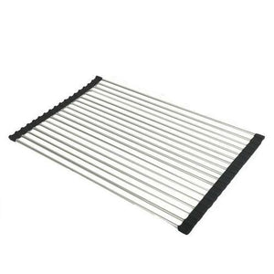 Kitchen Dish Drying Stainless Steel Rack
