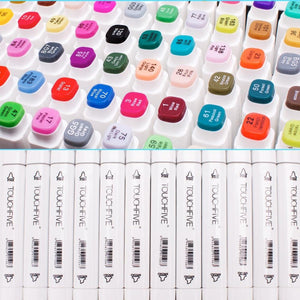 Brush Pen Markers Art Supplies for Manga Drawing Lettering