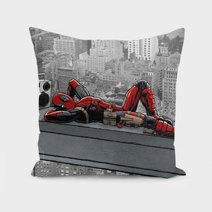 Degenerate Regenerates Spide-Man Print  - Pillow Cover
