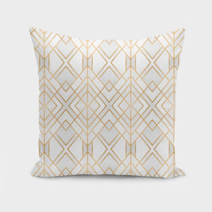 Geometrical Design Pillow Cover